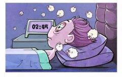 关于失眠熬夜的搞笑句子